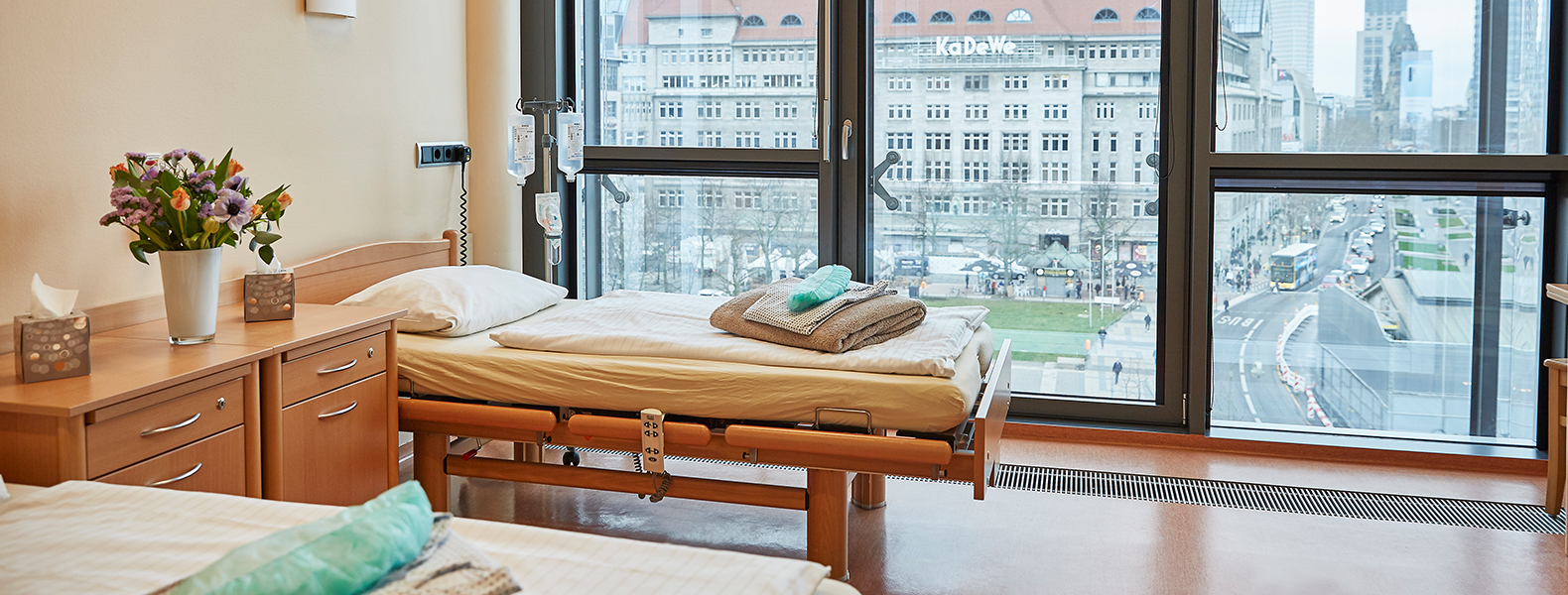 Nos chambres de patients avec vue