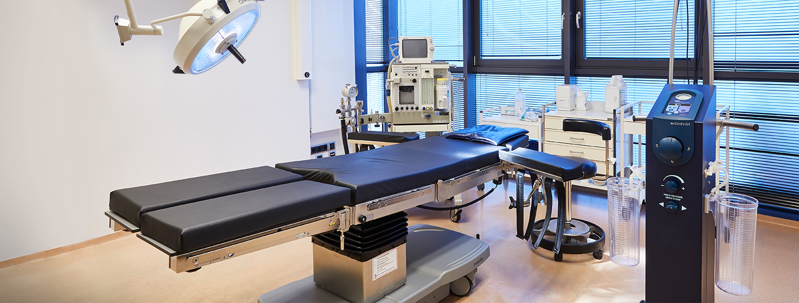 salle d'opération de la clinique